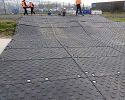 MaxiTrak Heavy Duty Man-handleable Ground Protection And Temporary Roadway System