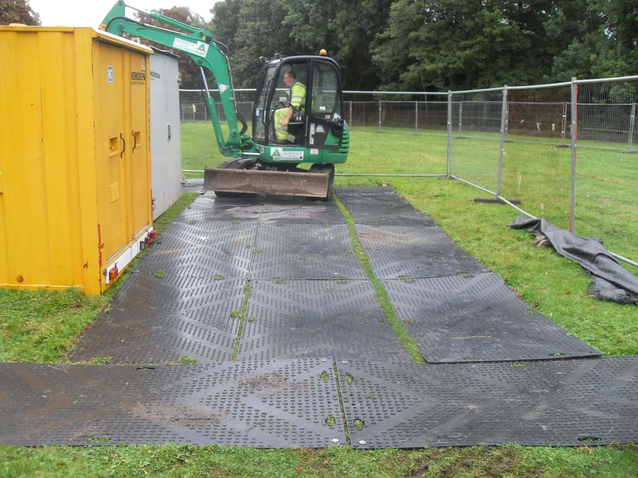 Ground Protection Mats ProtectaMats Parks Reserves Facilities